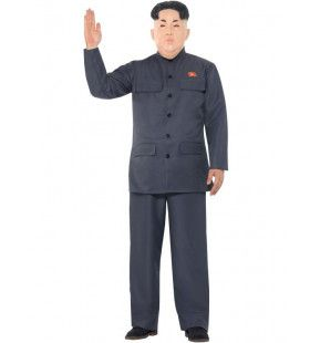 Communistische Dictator Kim Man Kostuum