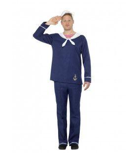 Trossen Los Matroos Noordzee Man Kostuum
