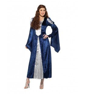 Onbereikbaar Schone Middeleeuwse Prinses Vrouw Kostuum