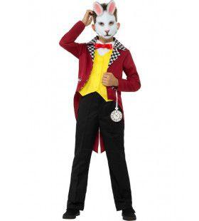 Het Witte Konijn Uit Alice In Wonderland Kind Kostuum