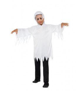 Gesluierde Griezelige Geest Kostuum