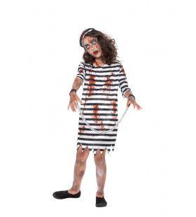Zombie Gevangene Dertig Keer Levenslang Meisje Kostuum