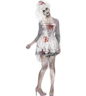 Dans Gala Zombie Prinses Vrouw Kostuum