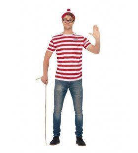 Waar Is Wally Set Driedelig Man