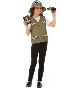 Vierdelige Set Ontdekkingsreiziger Safari Kind