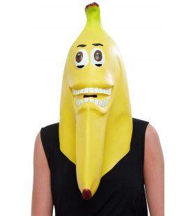 Masker Grijnzende Banaan