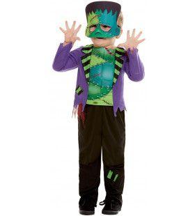 Griezelig Monster Van Frankenstein Jongen Kostuum