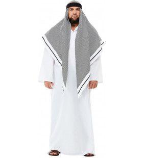 Sjeik Nabije Oosten Grote Hoofddoek Man Kostuum