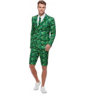 Palmboom Tropische Eiland Man Kostuum