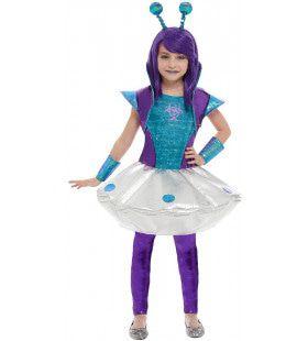 Galactische Alien Science Fiction Meisje Kostuum
