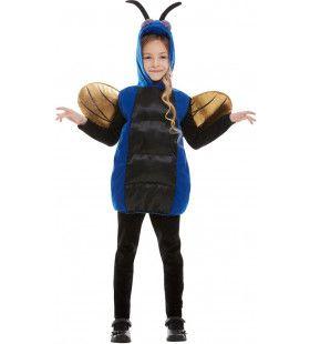Blauwe Kever Tor Kind Kind Kostuum