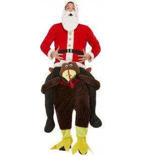 De Kerstman Houdt Van Kalkoen Kostuum