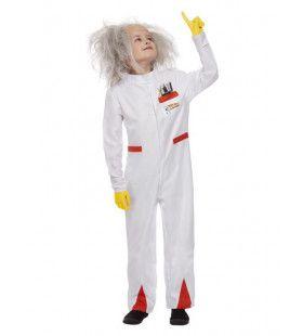 Back To The Future Verwarde Professor Doc Kind Kind Kostuum