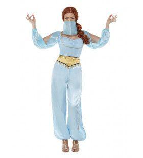 Spannende Arabische Danseres Vrouw Kostuum