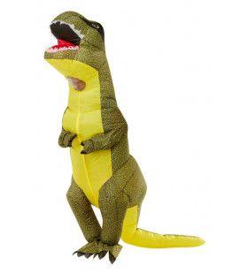 Opblaasbaar T-Rex Kostuum Man