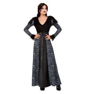 Winter Heksenkoningin Vrouw Kostuum