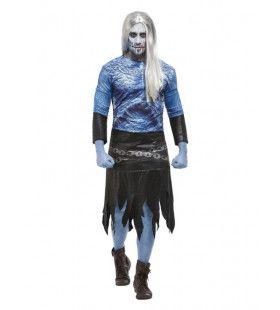 Schotse Zombie Strijder Man Kostuum