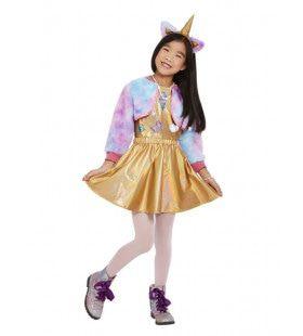 Snoezig Kittycorn Meisje Kostuum