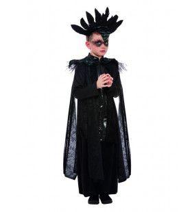 Zwart Raaf Ridder Jongen Kostuum