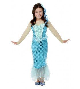 Aqua Zeemeermin Meisje Kostuum