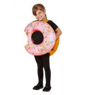 Lekker Hapje Roze Donut Kind Kind Kostuum