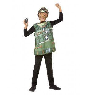 Soldaat Verkleedkit Kind Kostuum