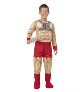 He-Man De Sterkste Jongen Van Het Universum Kostuum