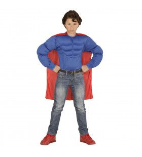Held Super Power Jongen Kostuum