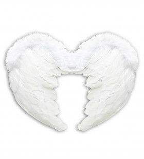 Engel Veren Vleugels 37x50 Centimeter, Wit