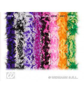Boa, 2-Kleurig Lila / Paars 180cm