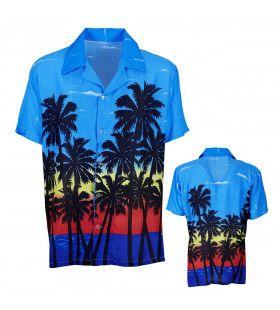 Caribbean Sunrise Hawaiishirt Palm Beach