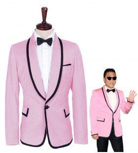 Psy Gangnam Style Jas Mr. Style Rose Man Kostuum