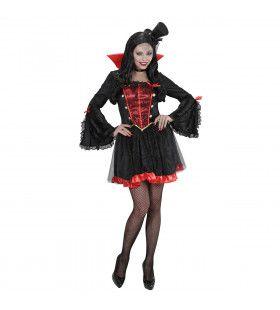 Luxe Dames Vampier Vrouw Kostuum