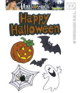 Raamstickers Happy Halloween