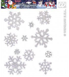 Sneeuwvlok Raam Stickers