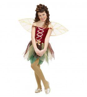 Fantasie Fee Kind Forrest Ferry Kostuum Meisje