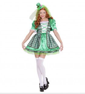 Naughty Green Iers Meisje Vrouw Kostuum