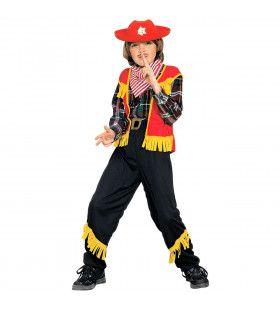 Kleurrijk Cowboy Kostuum Jongen
