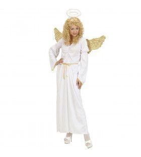 Verleidelijke Hemelse Engel Kostuum Vrouw