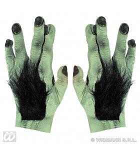 Paar Frankensteinhanden Met Haar