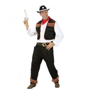 Texas Cowboy Zwart Kostuum Man