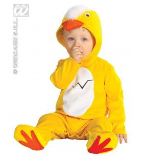 Baby Kuiken Kwak Kwak Kostuum