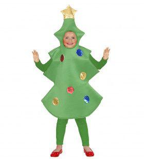 Grappige Kerstboom Kind Kostuum Kind