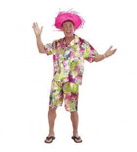 Aloha Hawaiiaanse Man Kostuum
