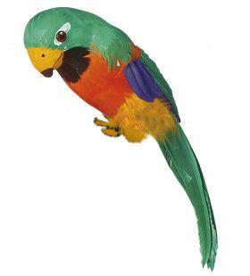 Mr Parrot Decoratieve Papegaai, Groen