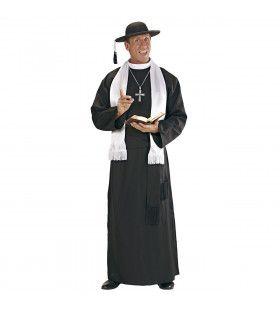 Overtuigende Priester Don Camillo XL Kostuum Man
