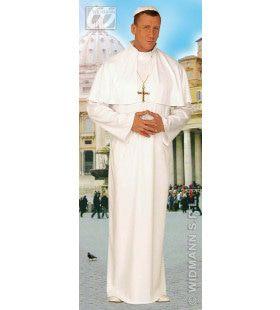 Paus Zijne Koninklijke Heiligheid Kostuum Man