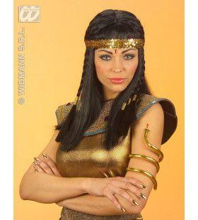 Buigbare Egyptische Slangen Armband