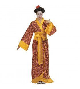 Geisha Kyoto Dame Kostuum Vrouw