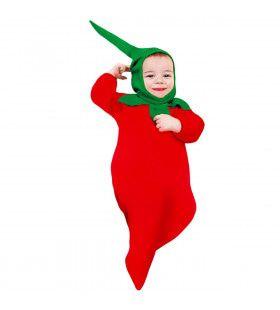 Grappige Hete Rode Peper, Baby Kostuum
